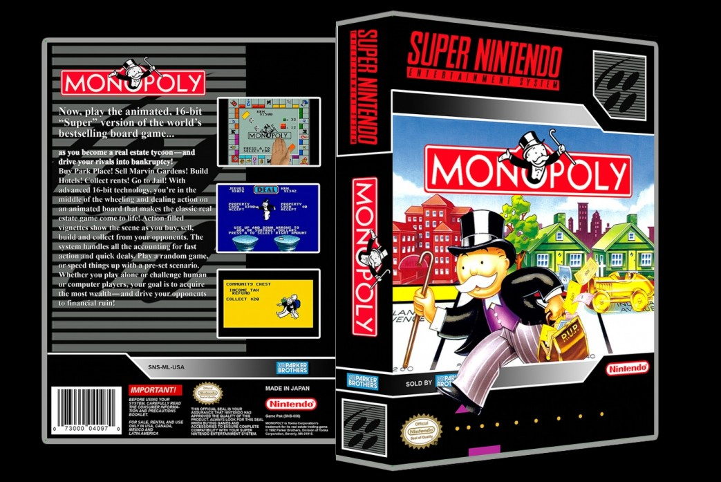 Monopoly -  Game Case