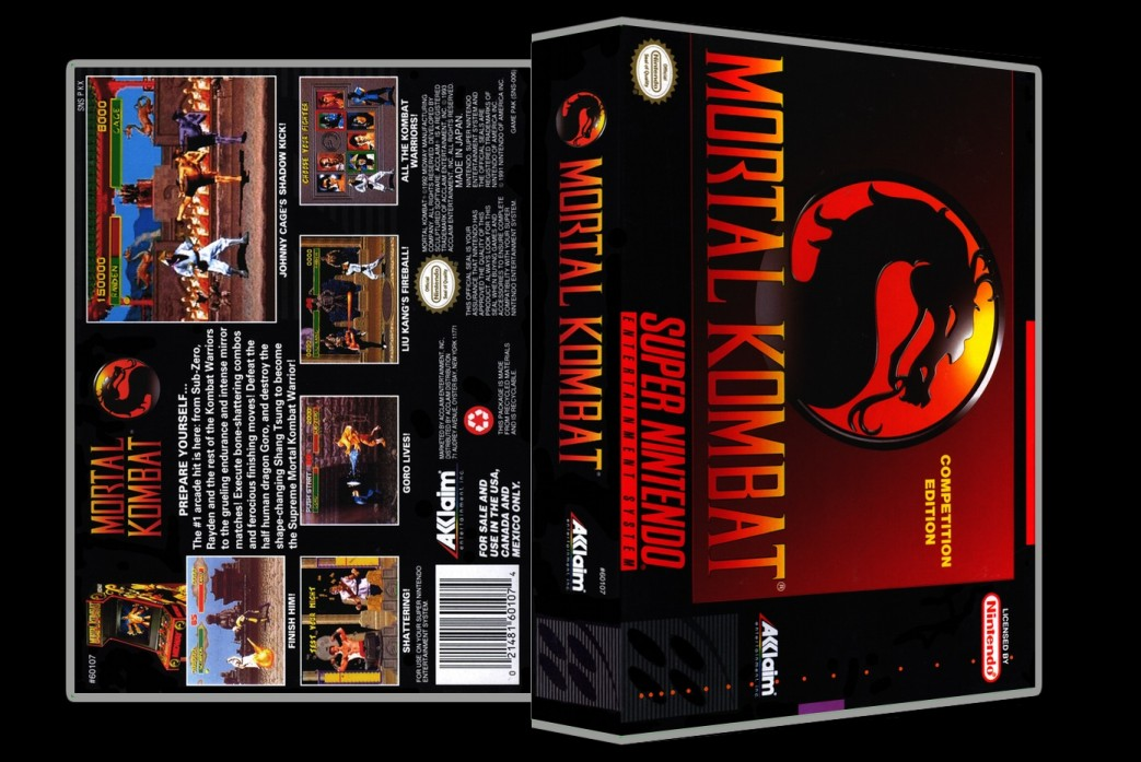 Mortal Kombat -  Game Case