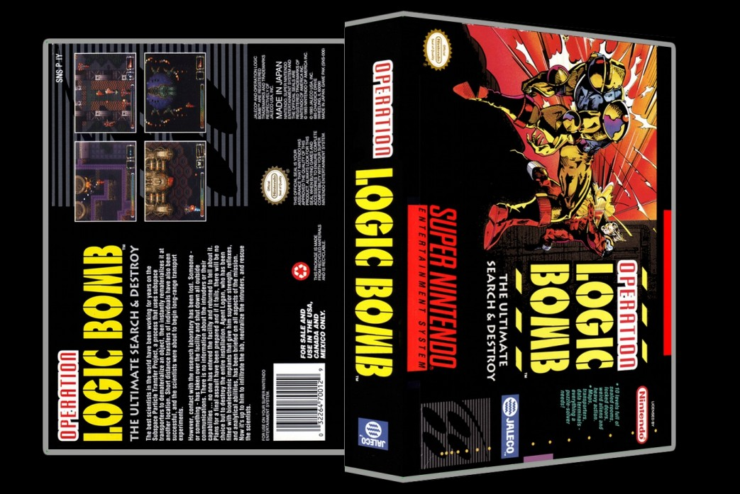 Operation Logic Bomb -  Game Case