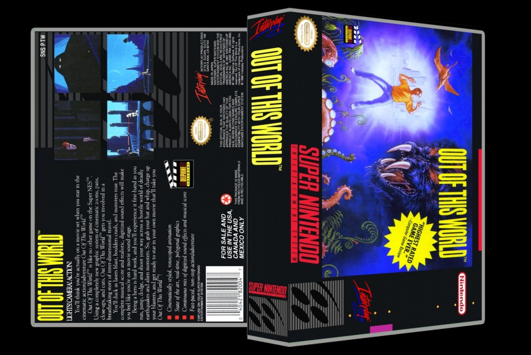 Out Of This World -  Game Case