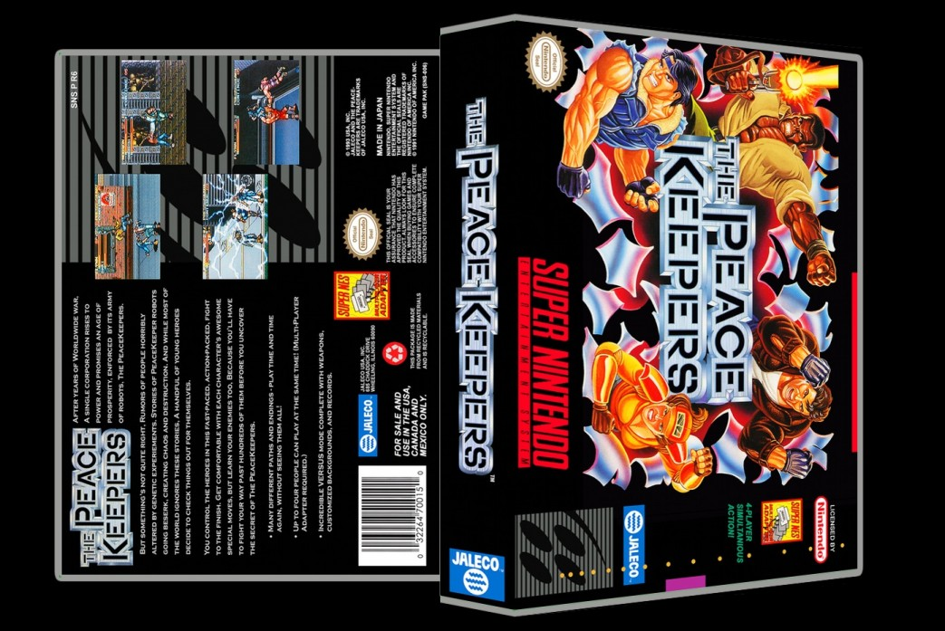 Peacekeepers -  Game Case