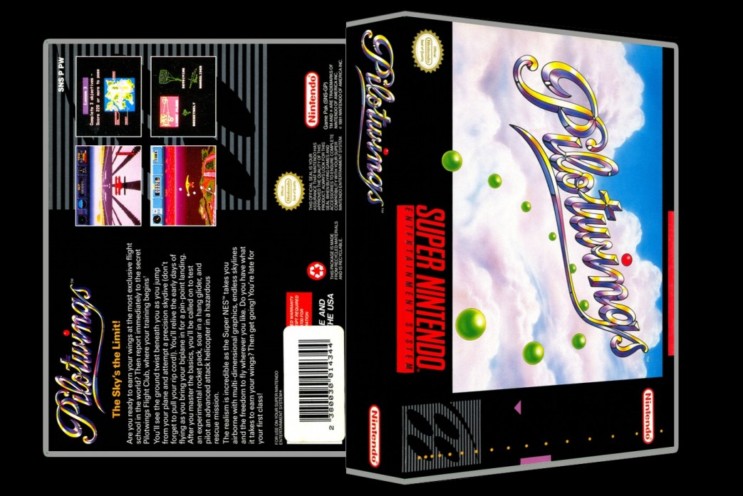 Pilotwings -  Game Case