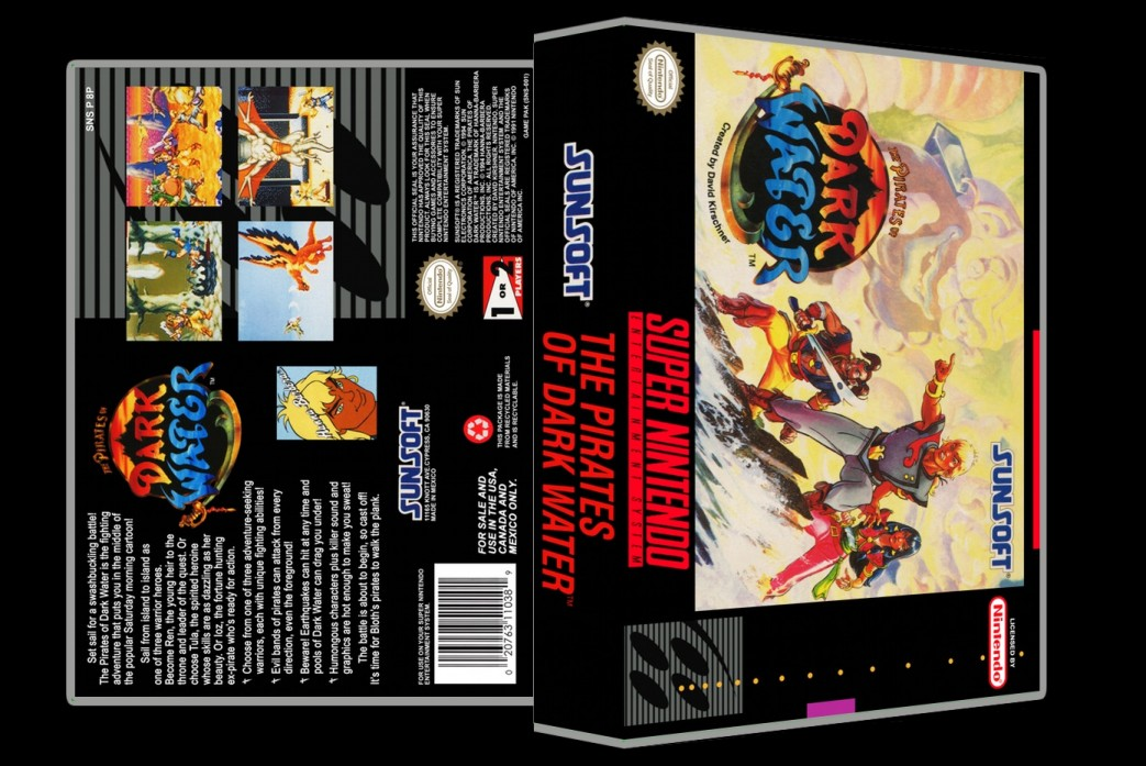 Pirates of Dark Water -  Game Case