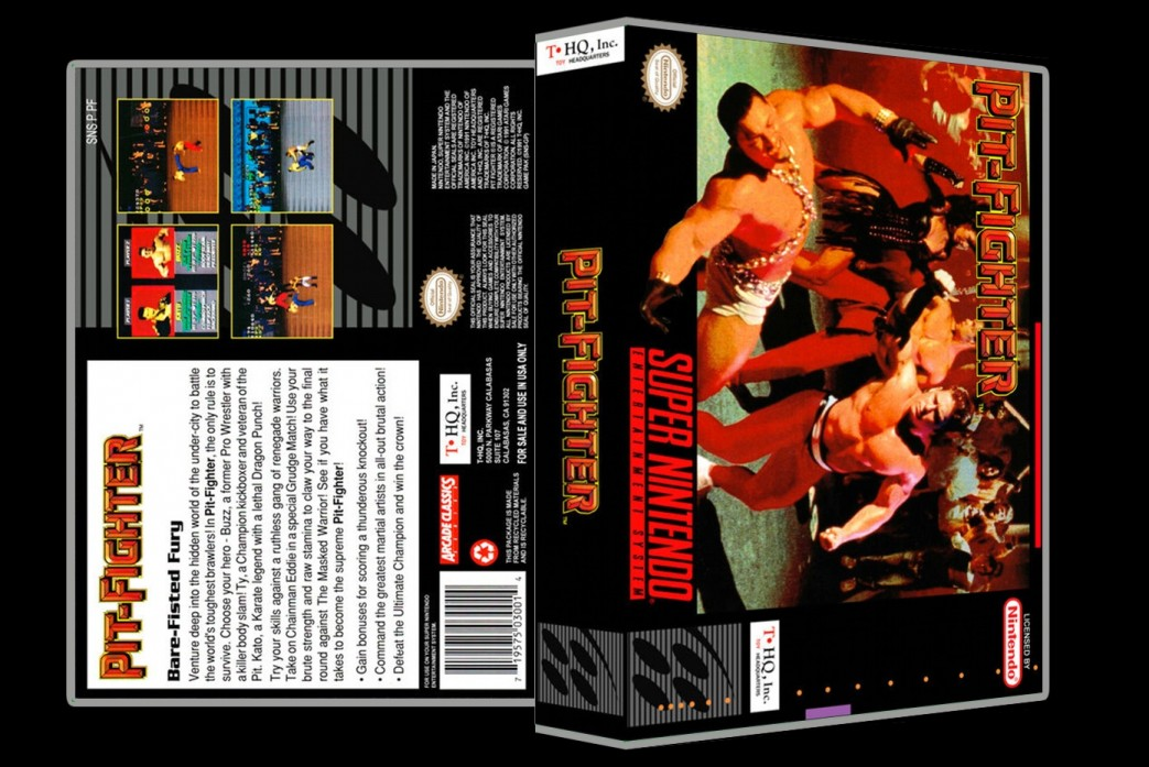 Pit-Fighter -  Game Case