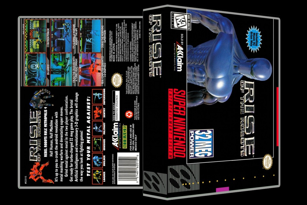 Rise of the Robots -  Game Case