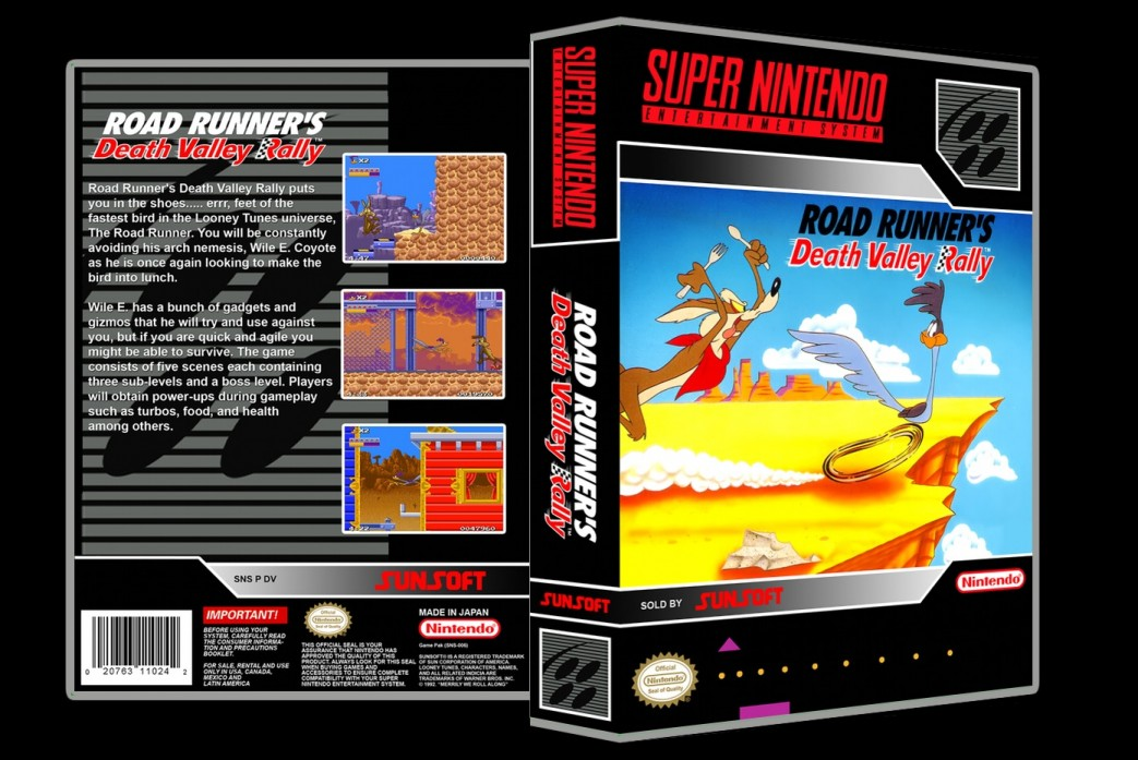 Road Runner's Death Valley Rally -  Game Case