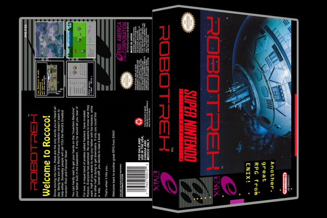 Robotrek -  Game Case
