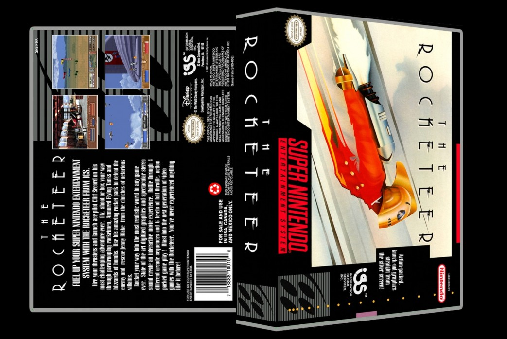 Rocketeer -  Game Case