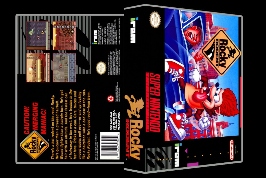 Rocky Rodent -  Game Case