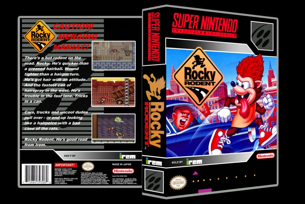 Rockey Rodent -  Game Case