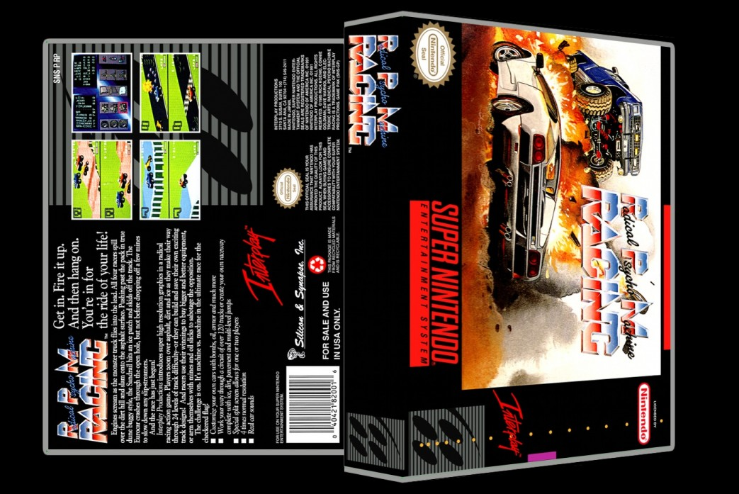 RPM Racing -  Game Case