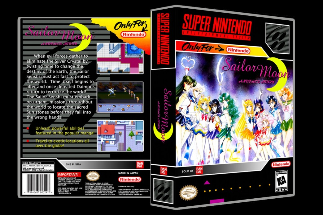 Sailor Moon: Another Story -  Game Case