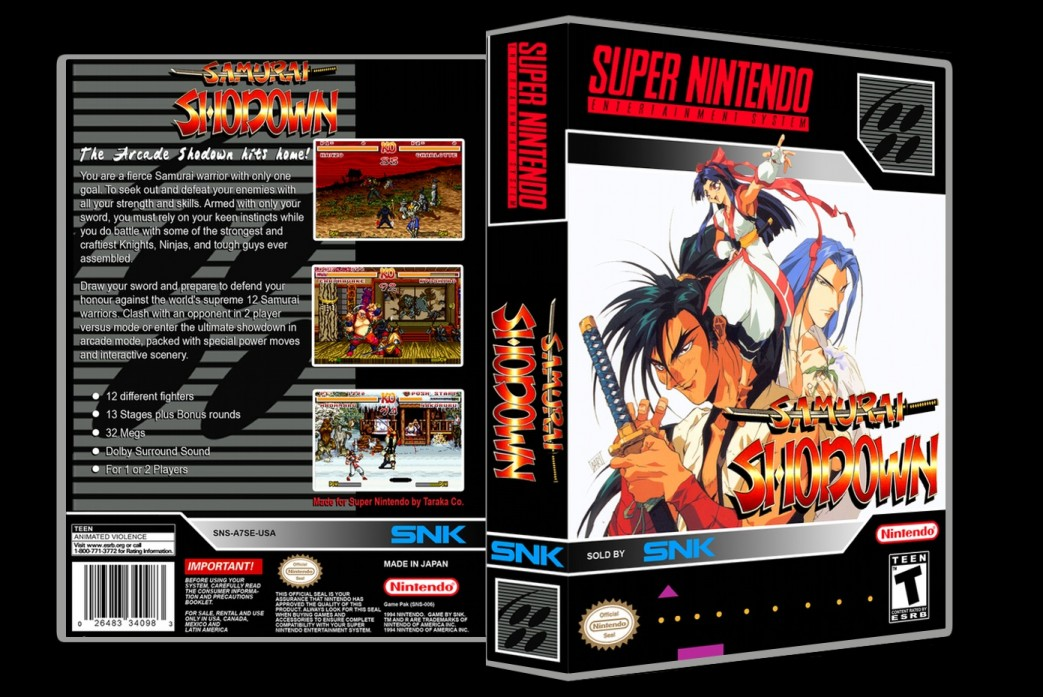 Samurai Shodown -  Game Case
