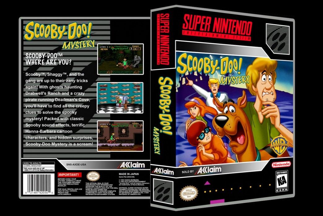 Scooby Doo Mystery -  Game Case