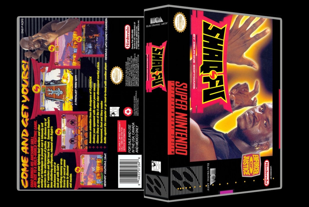 Shaq-Fu -  Game Case