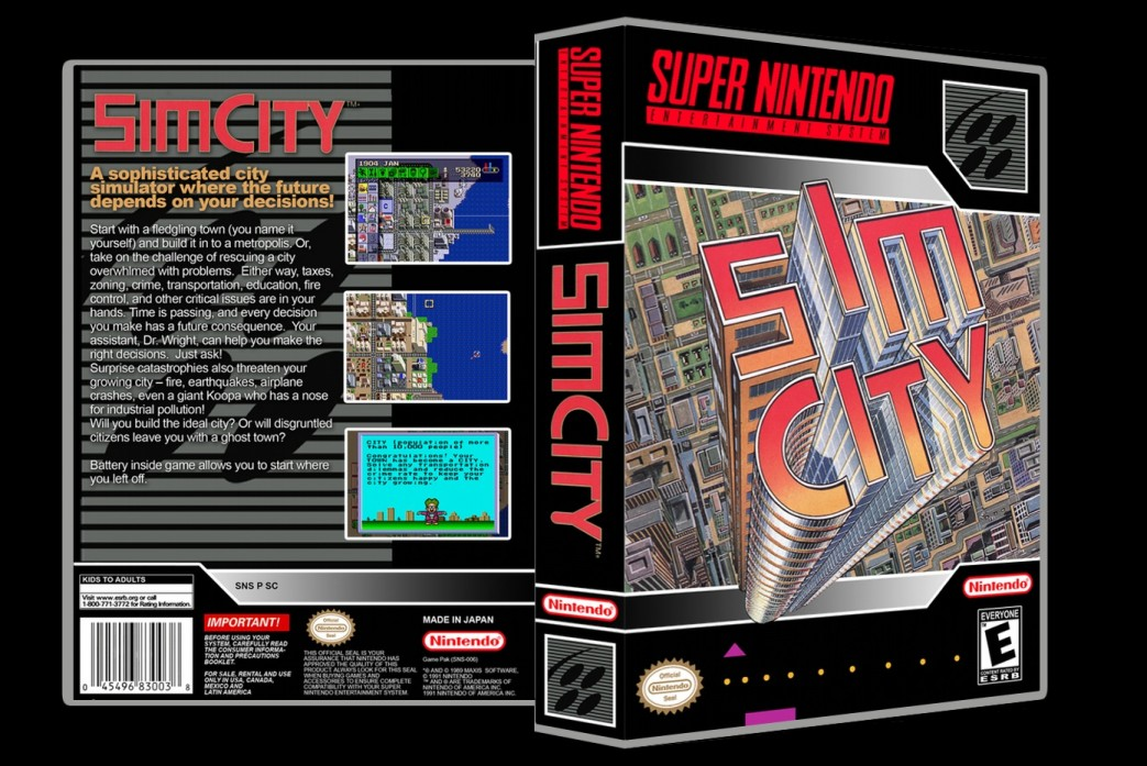 Sim City -  Game Case