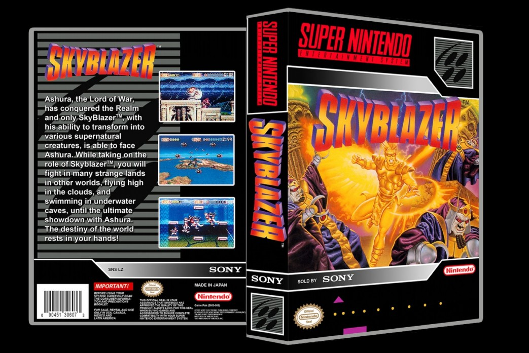 Skyblazer -  Game Case