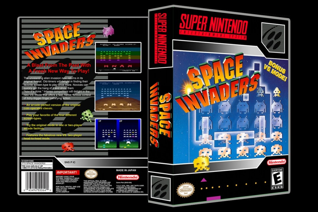 Space Invaders -  Game Case