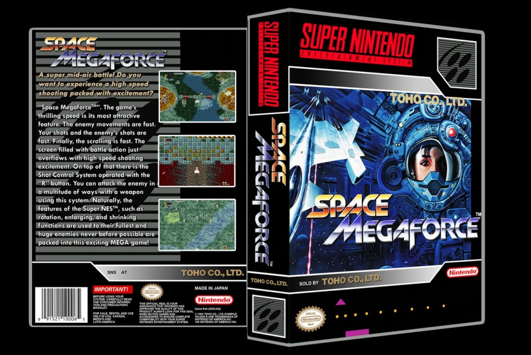 Space Megaforce -  Game Case