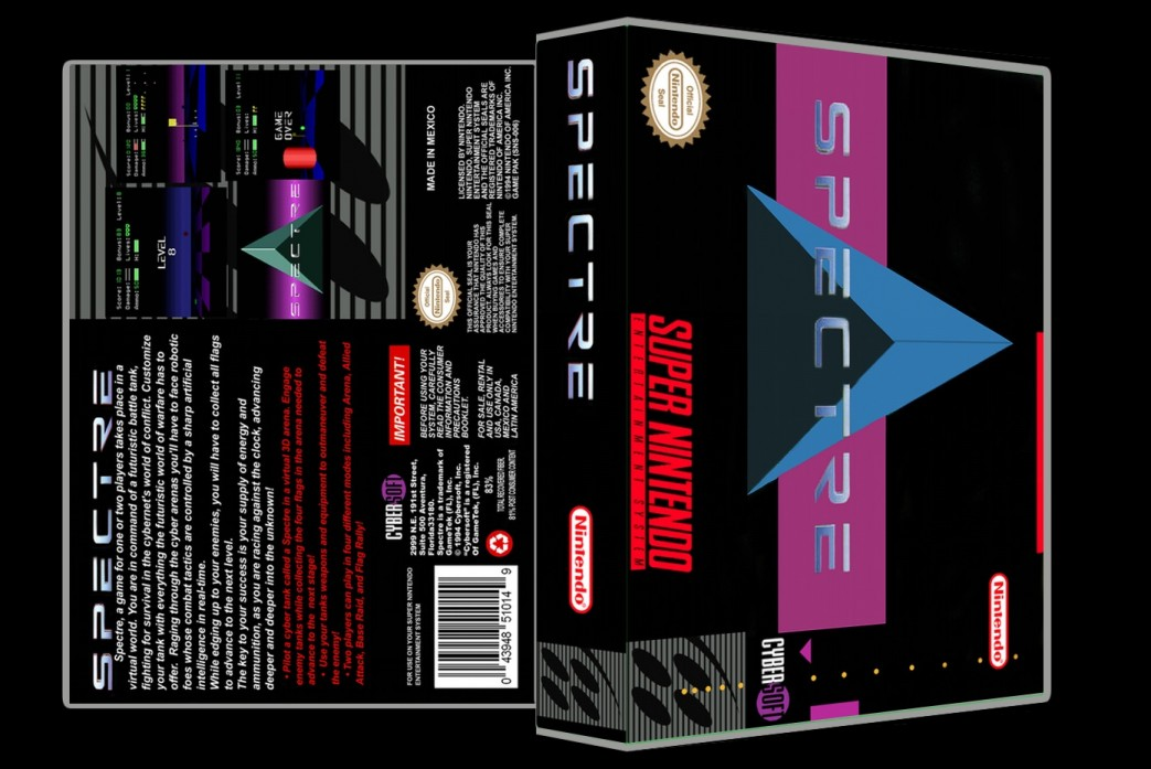 Spectre -  Game Case