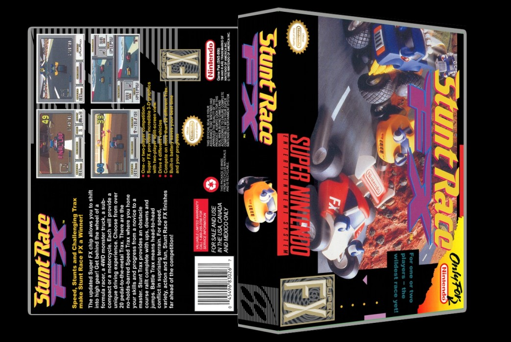 Stunt Race FX -  Game Case