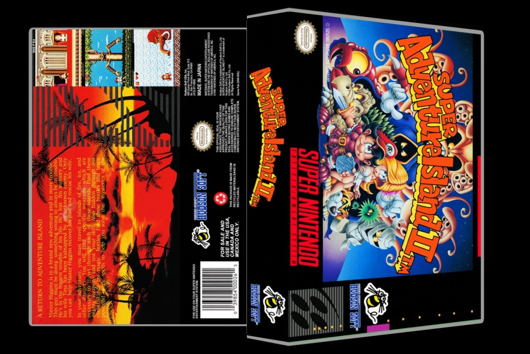 Super Adventure Island 2 -  Game Case