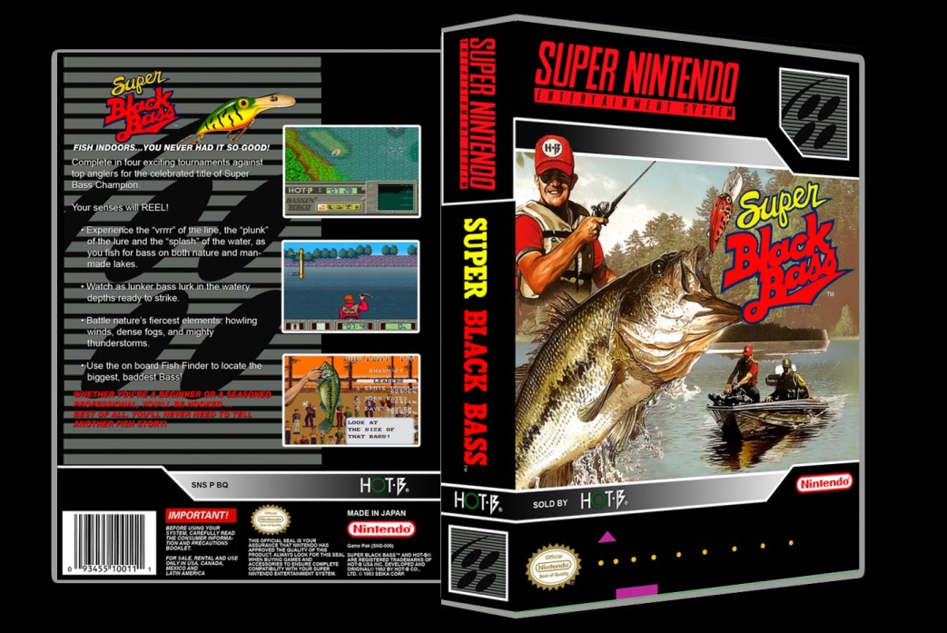 Super Black Bass -  Game Case