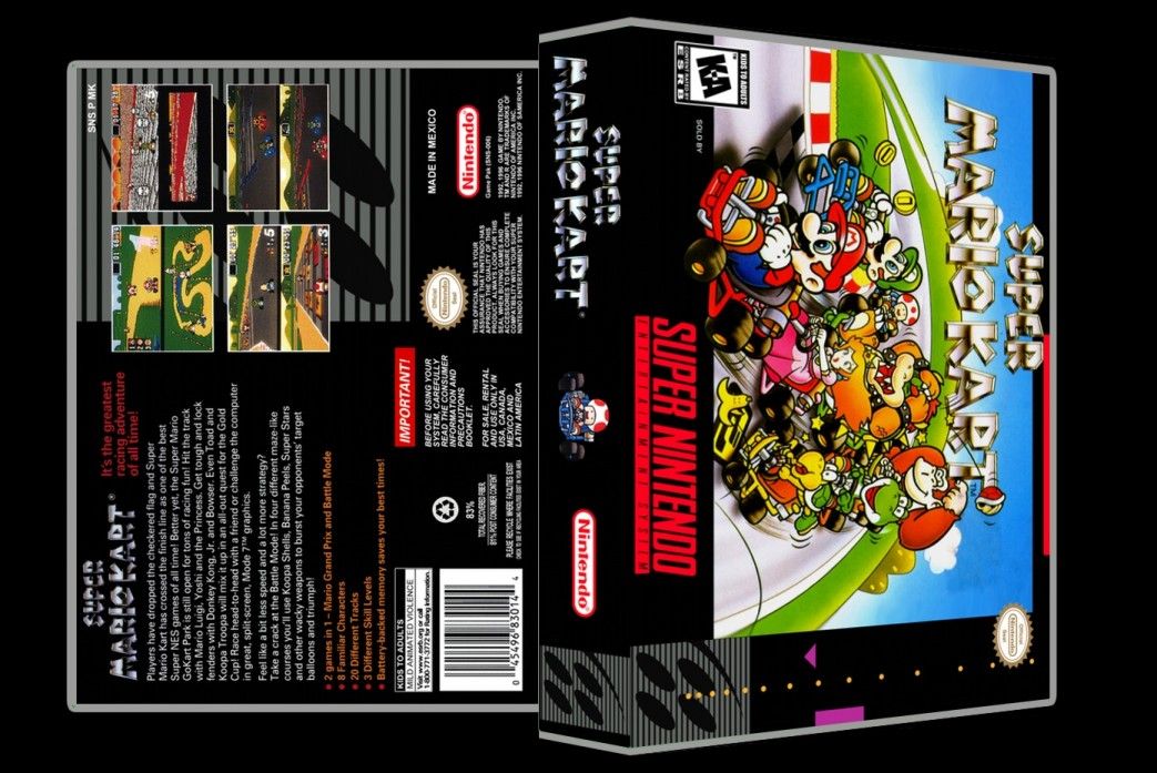 Super Mario Kart -  Game Case