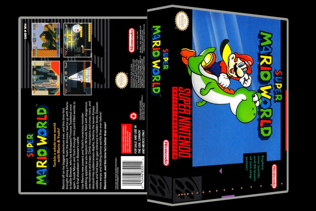 Super Mario World -  Game Case