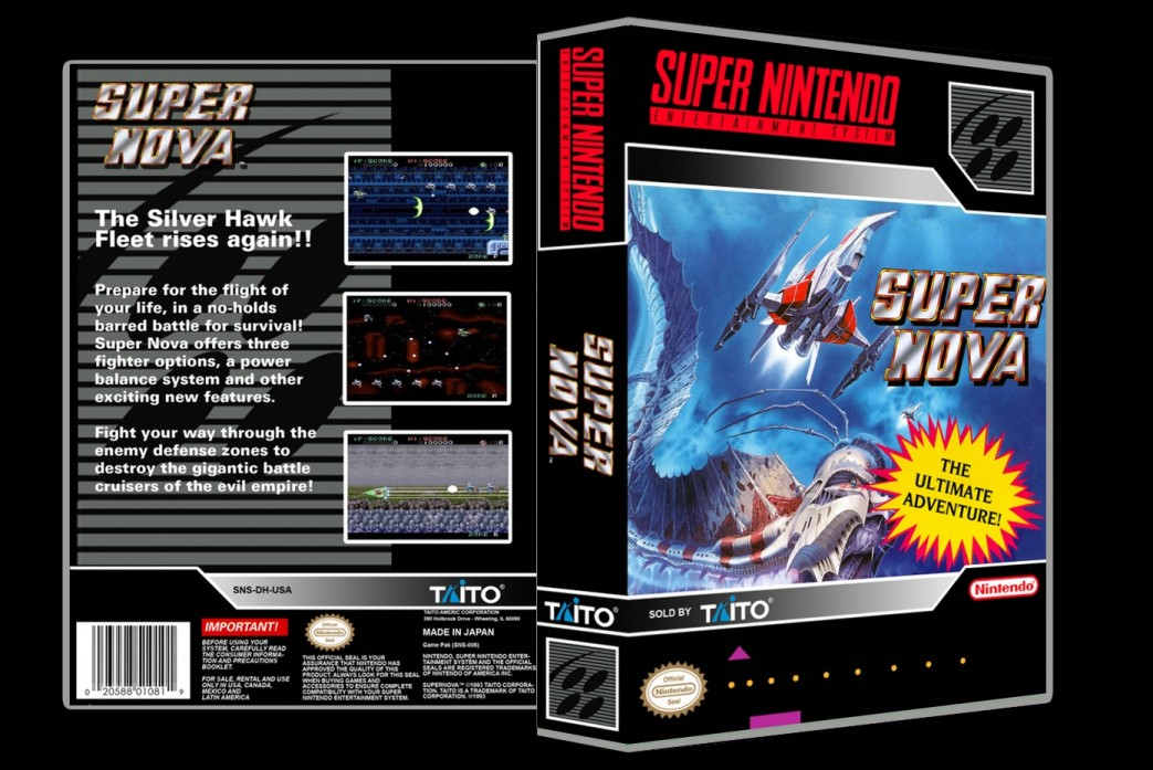 Supernova -  Game Case