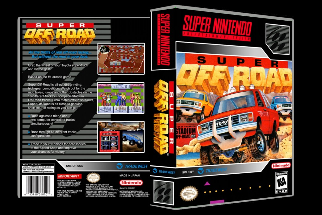 Super Off Road -  Game Case