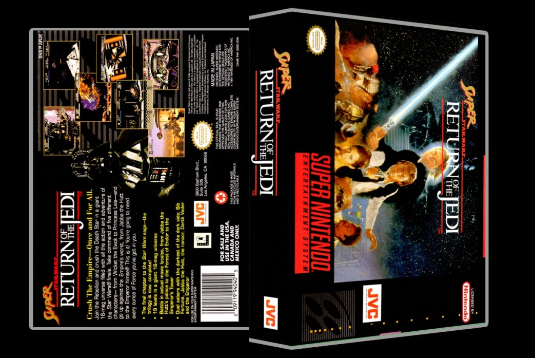 Super Return of the Jedi -  Game Case