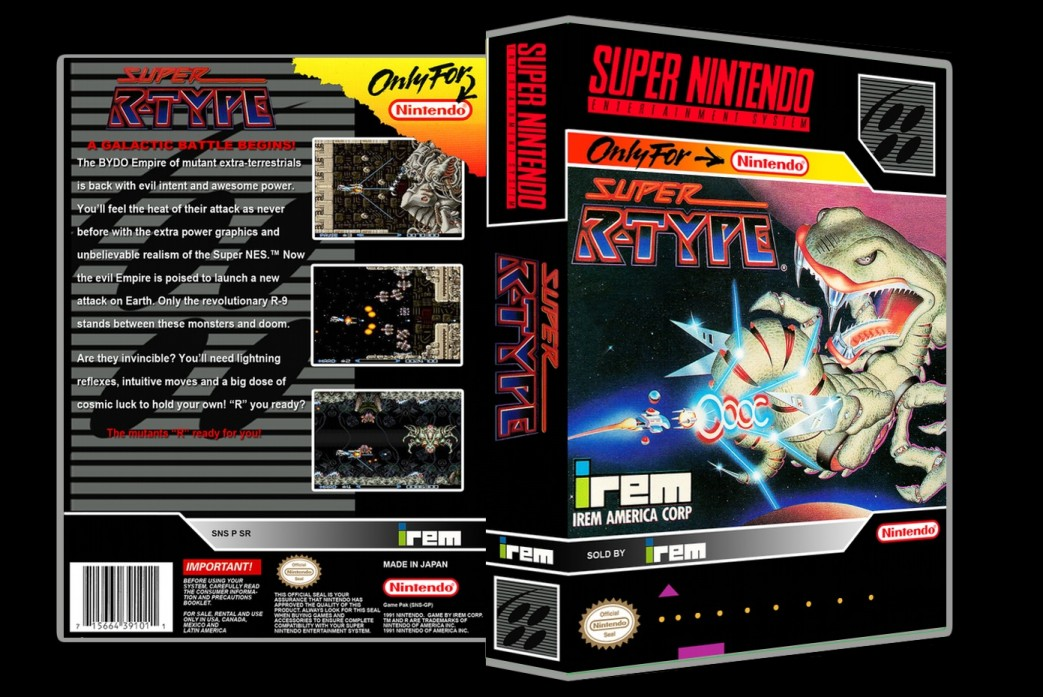 Super R-Type -  Game Case