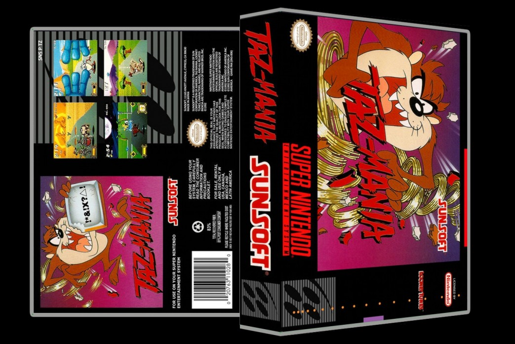 Taz-Mania -  Game Case