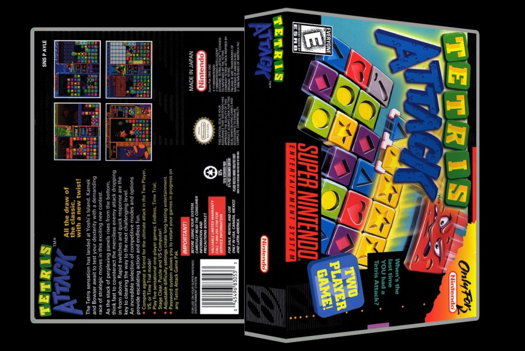 Tetris Attack -  Game Case