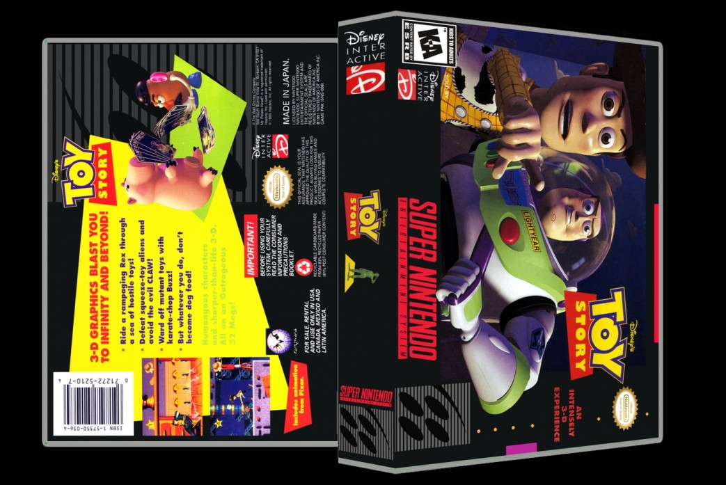 Toy Story -  Game Case