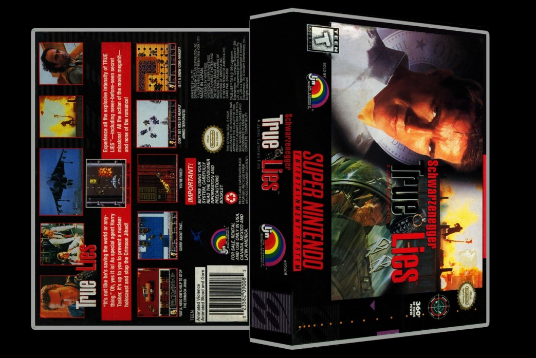 True Lies -  Game Case