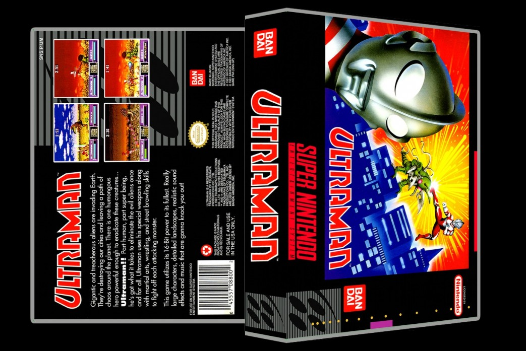 Ultraman -  Game Case