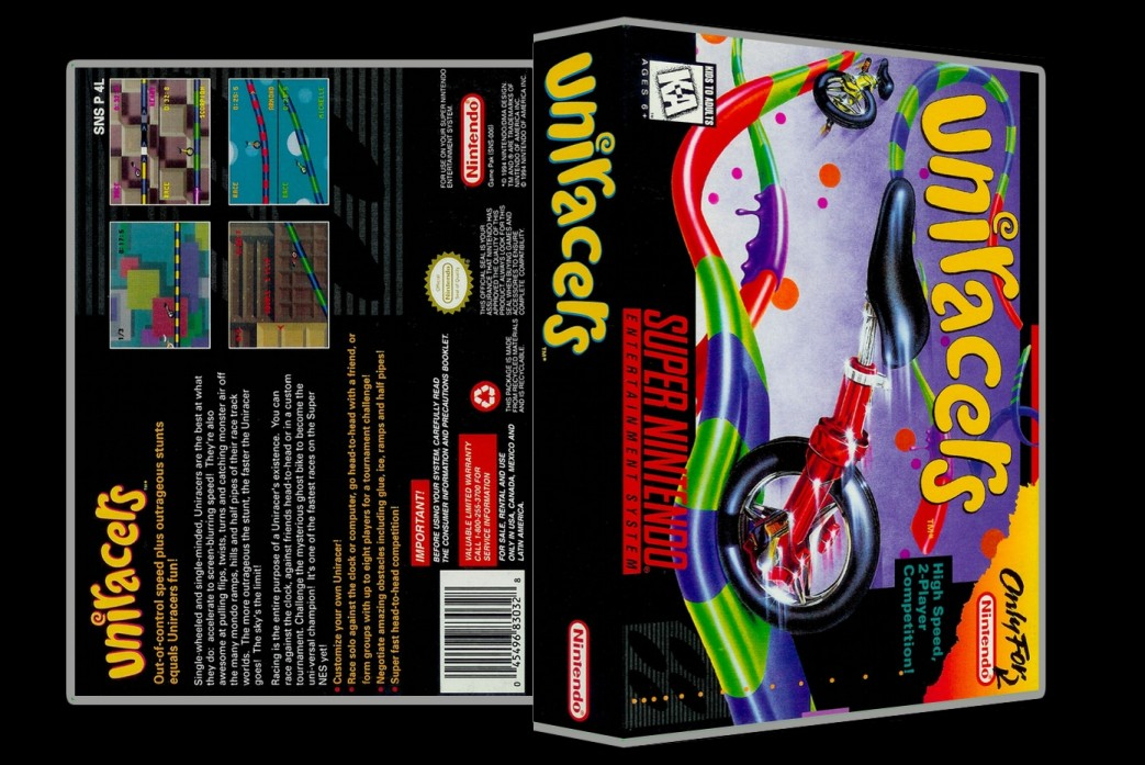 Uniracers -  Game Case