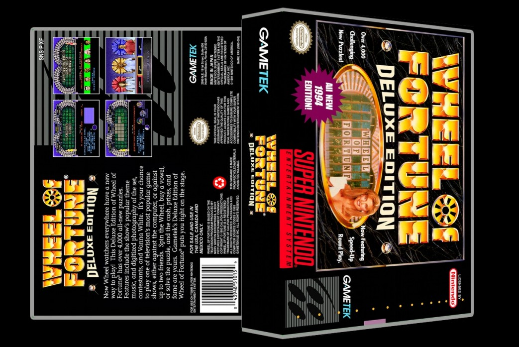 Wheel Of Fortune Deluxe Edition -  Game Case