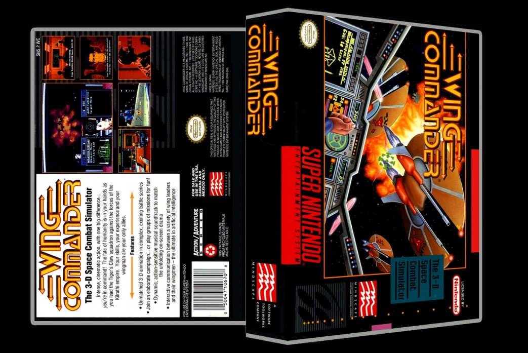 Wing Commander -  Game Case