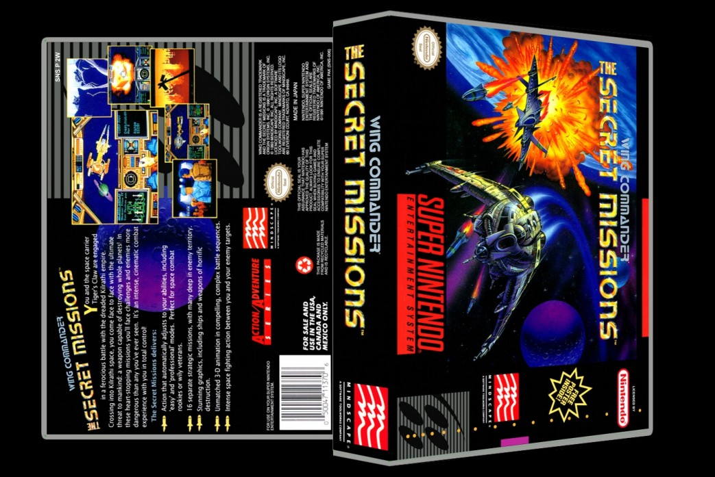 Wing Commander: The Secret Missions -  Game Case