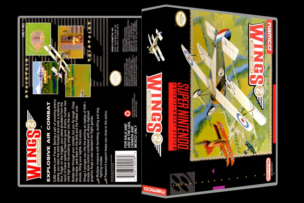 Wings Aces High -  Game Case