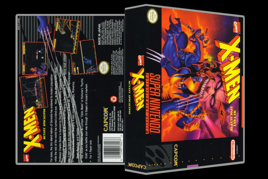 X-Men: Mutant Apocalypse -  Game Case