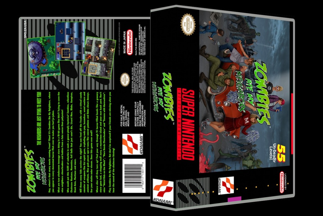 Zombies Ate My Neighbors -  Game Case